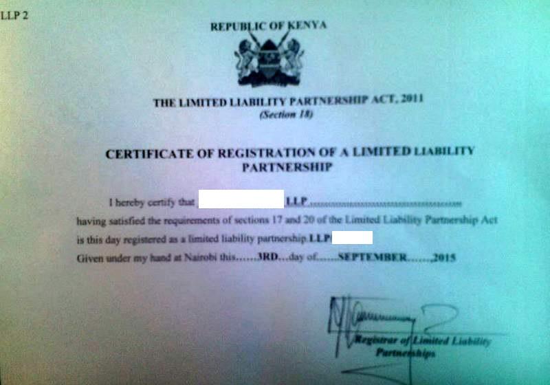 Eregulations kenya certificate of registration yelopaper Image collections