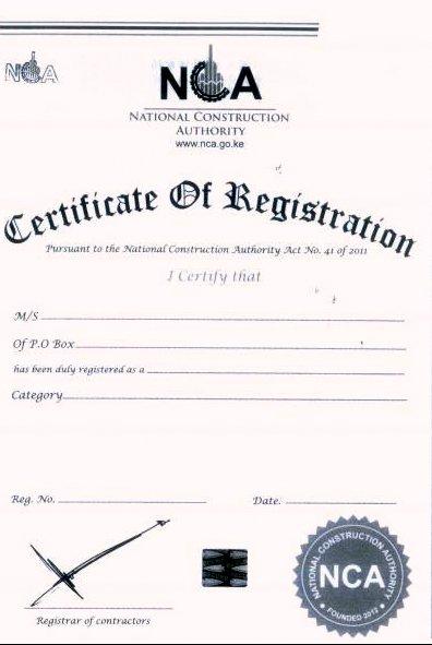 construction contract icons eregulations kenya
