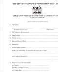 Foreign national application form
