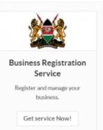 Business registration service customer care unit