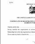 01 - Certificate of registration