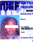 NHIF membership card
