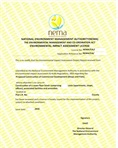 Environmental Impact Assessment license