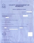 Single business permit