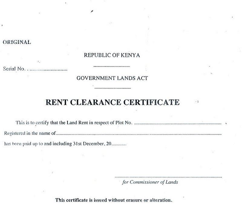 Demand Letter Sample Kenya