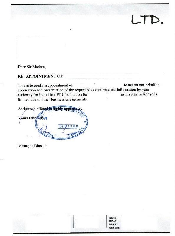 Application Letter For Teaching Kenya Application Letter For Fresh