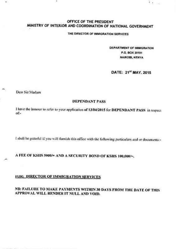 dependent visa in singapore